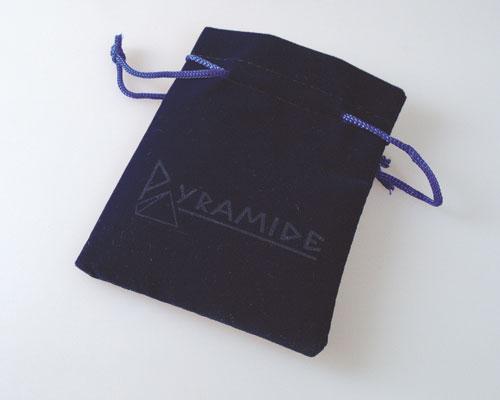 Samt-Säckchen dunkelblau