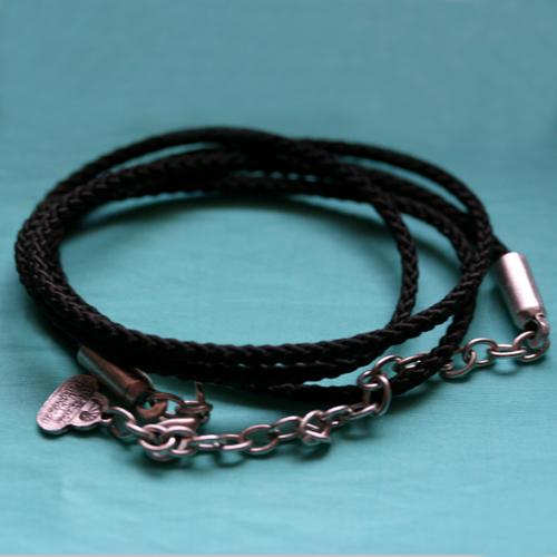 BB-PX Flechtband schwarz